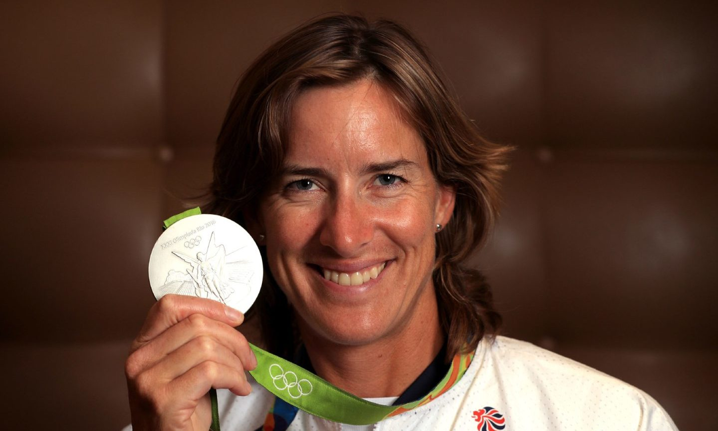 Katherine Grainger won her first Olympic medal in 2000 in Sydney.