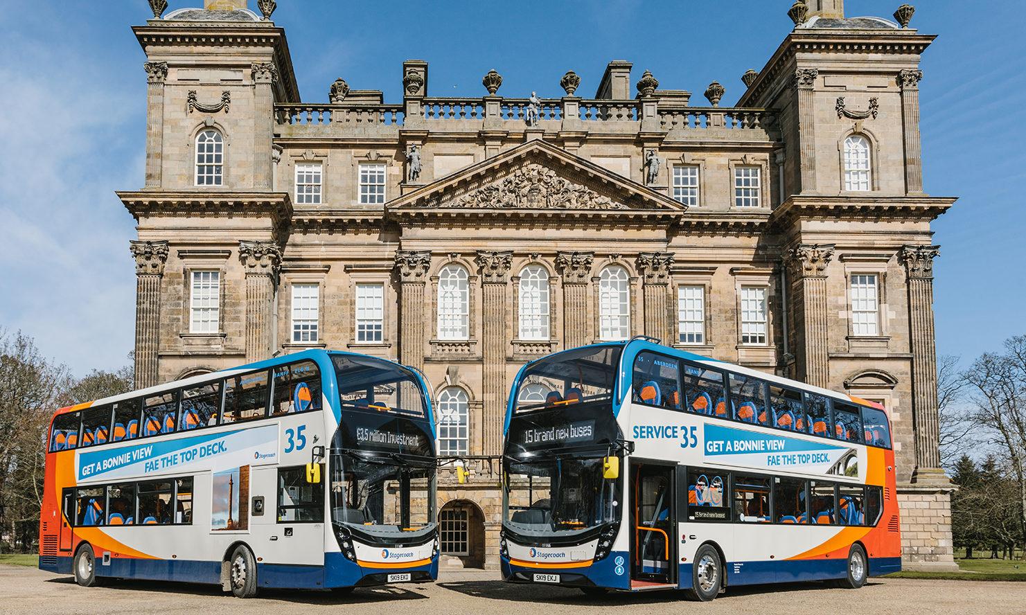 Service 35 makes final for Scottish Transport Awards.