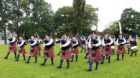 Turriff Pipe Band at the Scottish Championships 2019
