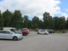 The Muir of Dinnet car park - Aberdeenshire Ranger Service