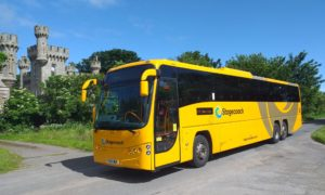 The new Stagecoach busses operating on the X99 Caithness to Inverness route.