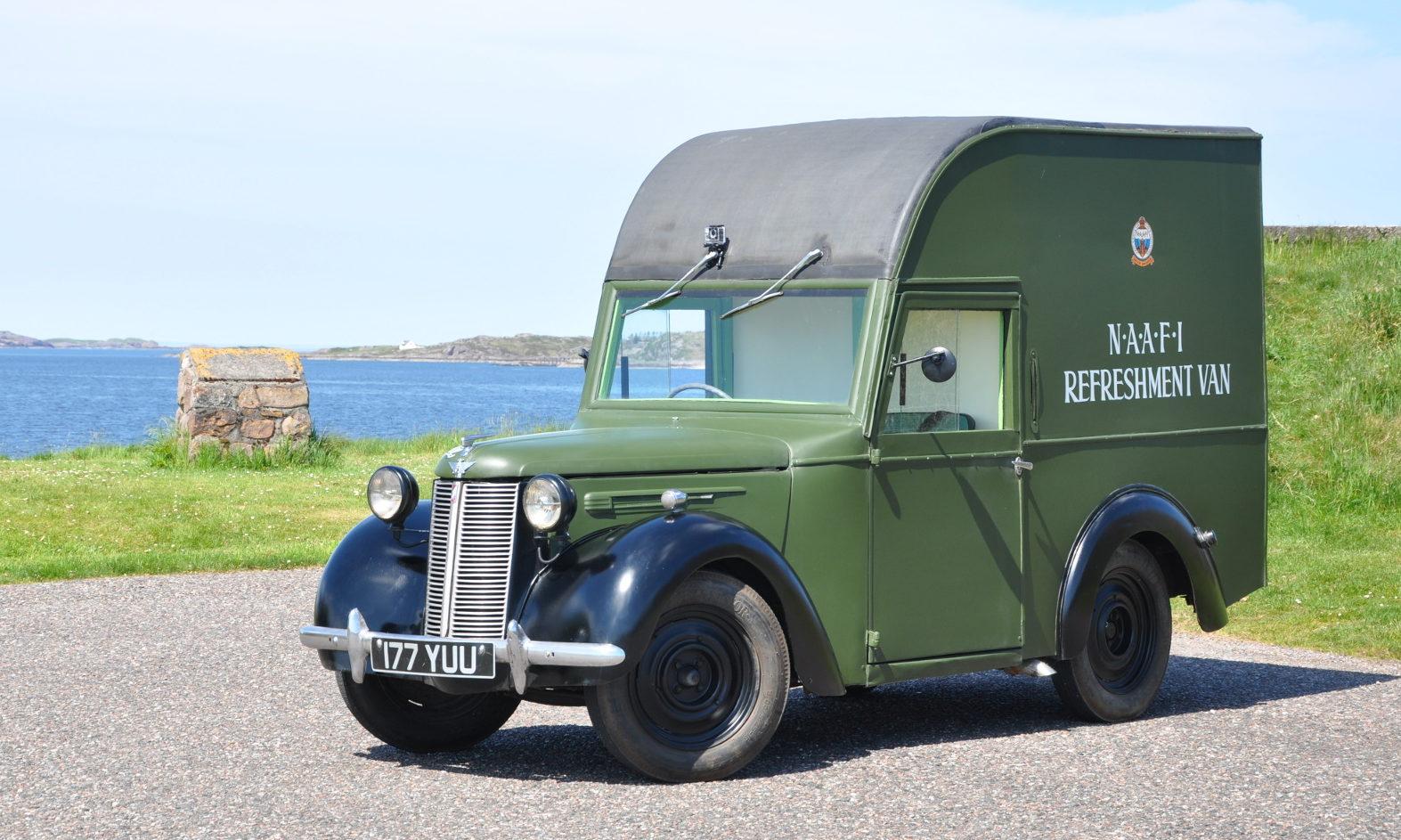 Bertie the van