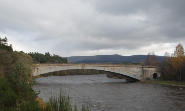 The Spey Bridge.