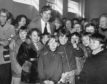 Comedian Dave Allen was delighted when the Aberdeen committee of the International Festival of Youth Orchestras presented him with a bottle of 25-year-old Scotch in 1978. Dave was lending a hand at their Spring sale in Queen's Cross Church Hall.