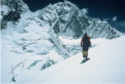 George Kennedy McLeod in the 1985 Mount Everest West Ridge Expedition, at age 59
