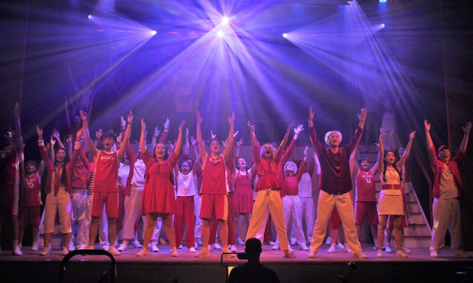 The FSJA performed High School Musical last year.