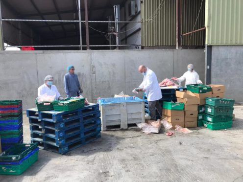 More than 17 tonnes of horsemeat was seized in the raids.