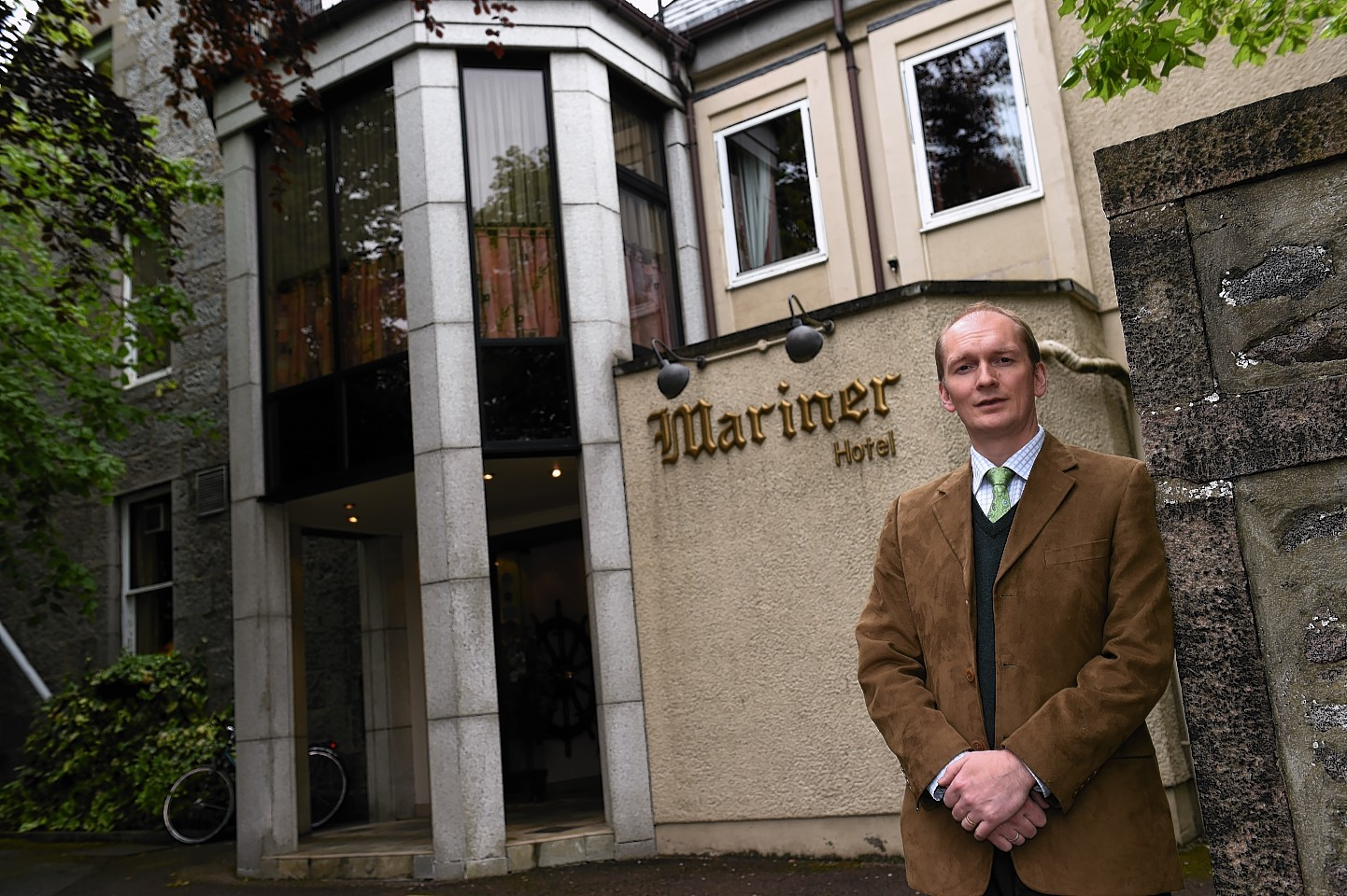 "Mariner Hotel owner Mike Edwards said a residential development has become his family's ""plan A"". Picture: Kenny Elrick"
