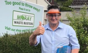 Phil Mills, operations manager of Moray Waste Busters.