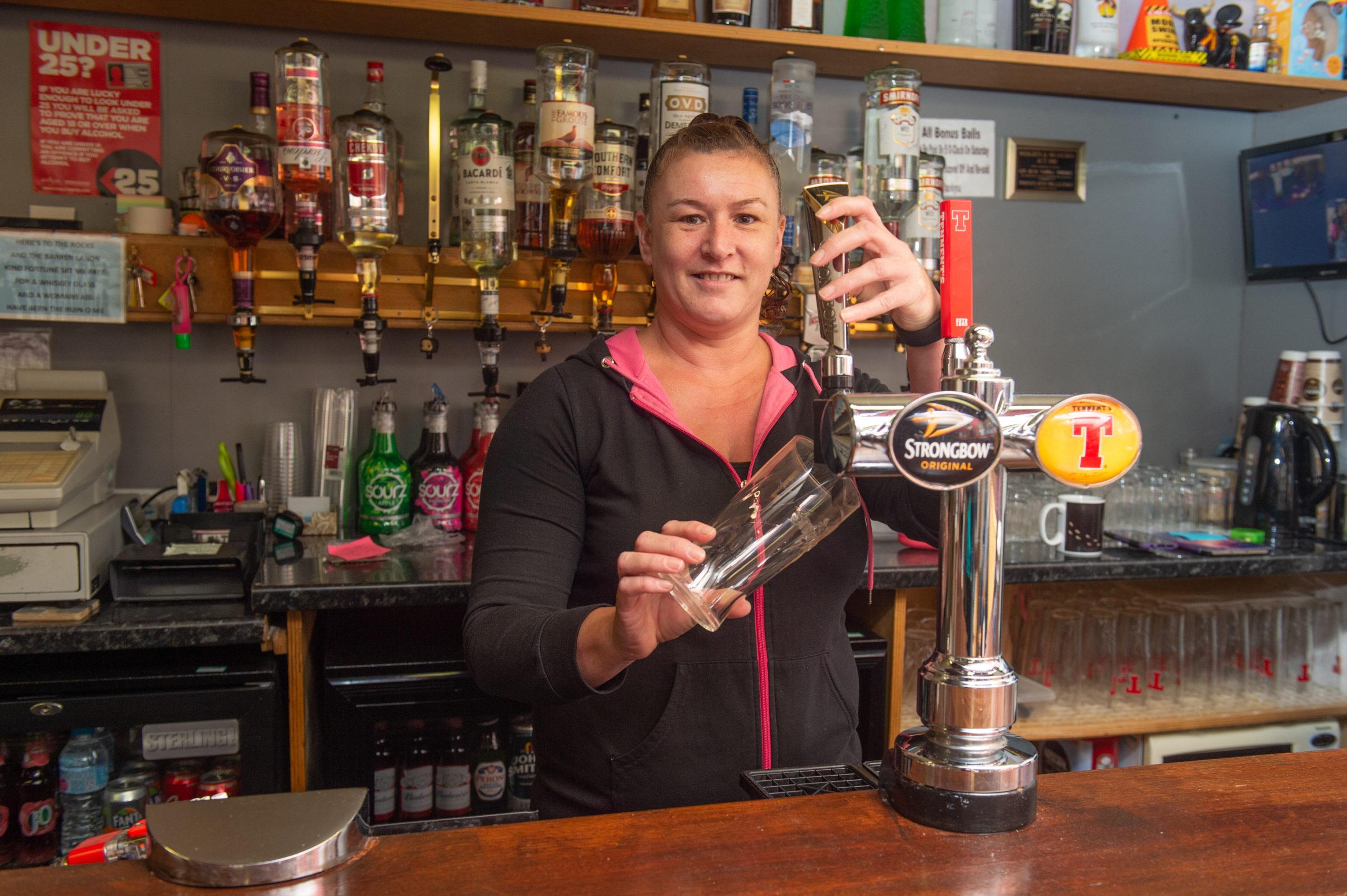 Midas Bar - Proprietor Michelle Newlands Picture  by Jason Hedges