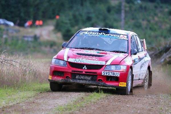 The Scottish Rally Championship will resume in March.