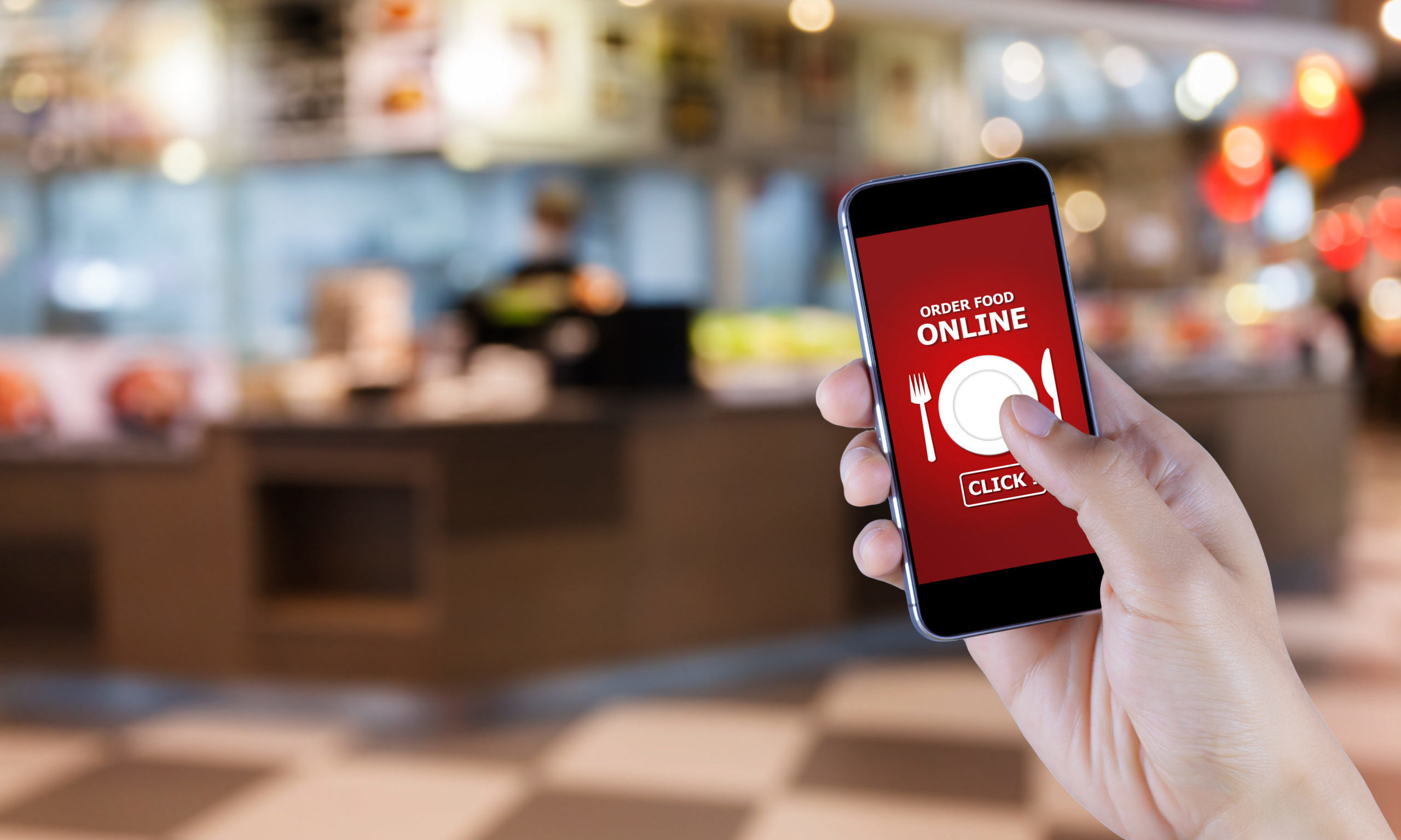 Ordering online is set to become the norm in pubs.