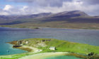 The 35-year-old man died on the shores of Loch Eriboll on Tuesday.