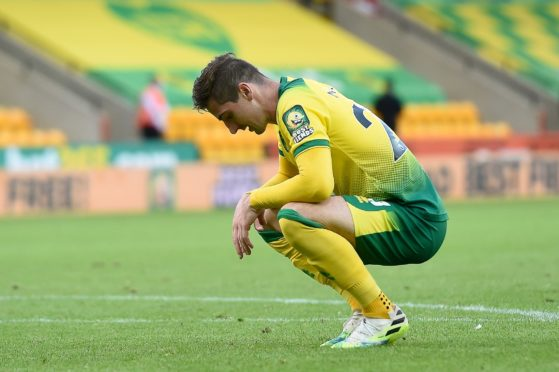 Kenny McLean after an FA Cup tie with Norwich City. Photo by Joe Giddens/NMC/Pool/EPA-EFE/Shutterstock (10693183dp)