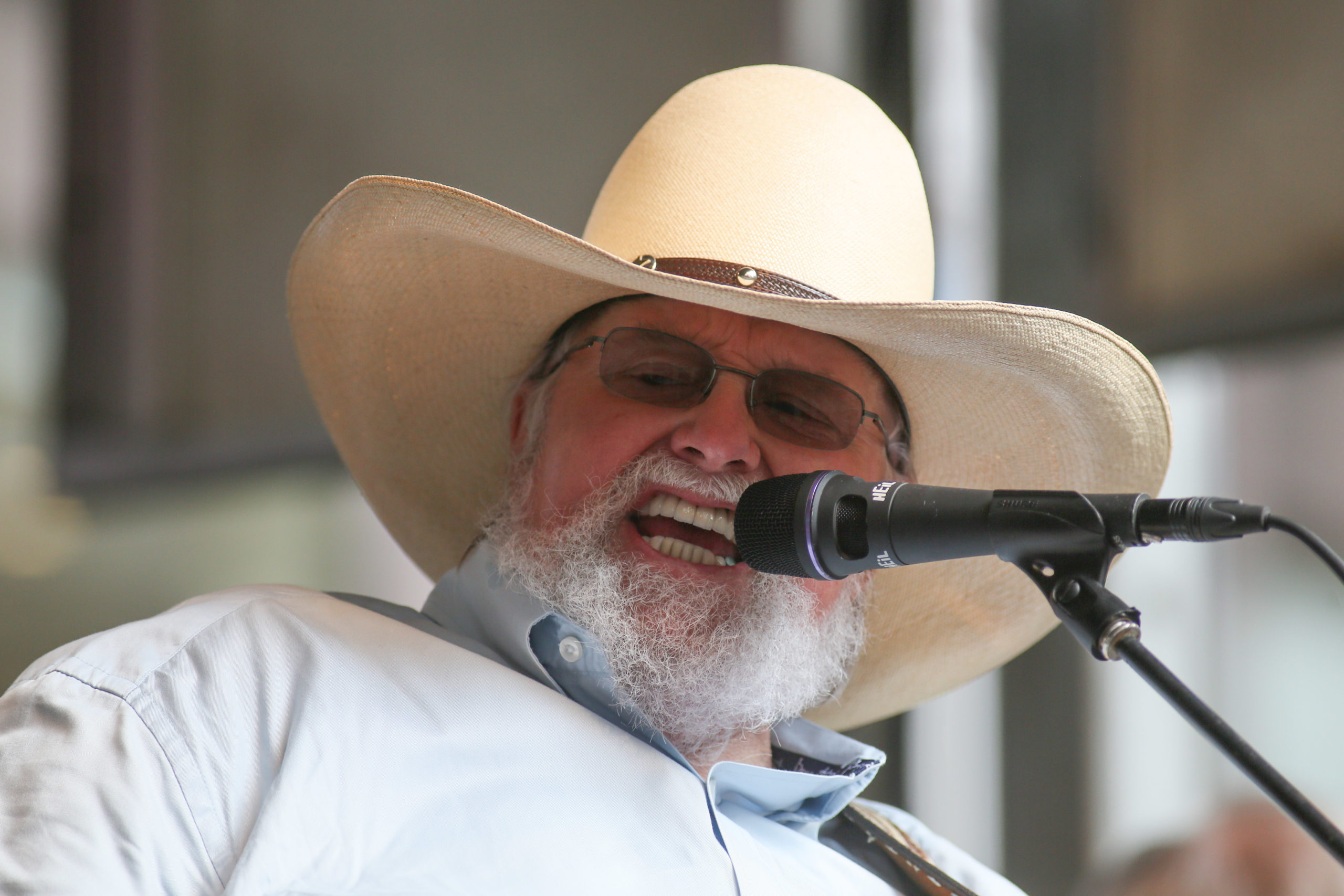 Mandatory Credit: Photo by Erik Pendzich/Shutterstock (3784866m) Charlie Daniels Fox and Friends All American Summer Concert Series, New York, America - 30 May 2014