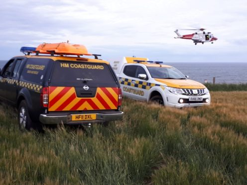 HM Coastguard resources.