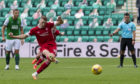 Aberdeen had been on a great run, including a win at Easter Road, ahead of last weekend's loss to Motherwell.