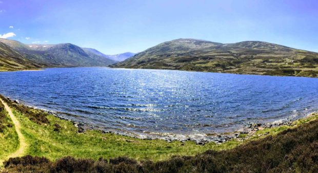 Loch Callater on the Invercauld Estate near Braemar. We had a beautiful walk there recently. Graham Simpson