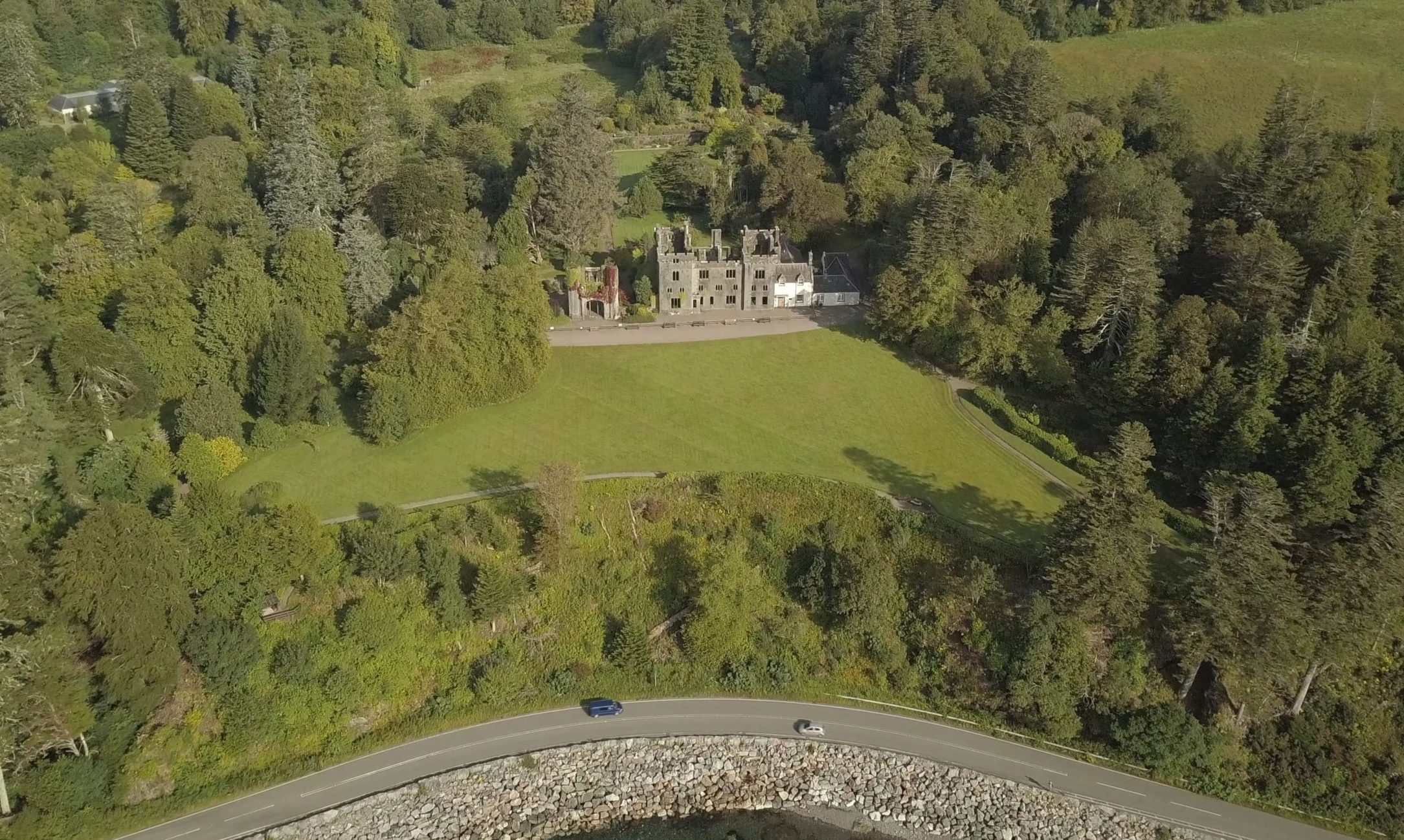 Armadale Castle on Skye.