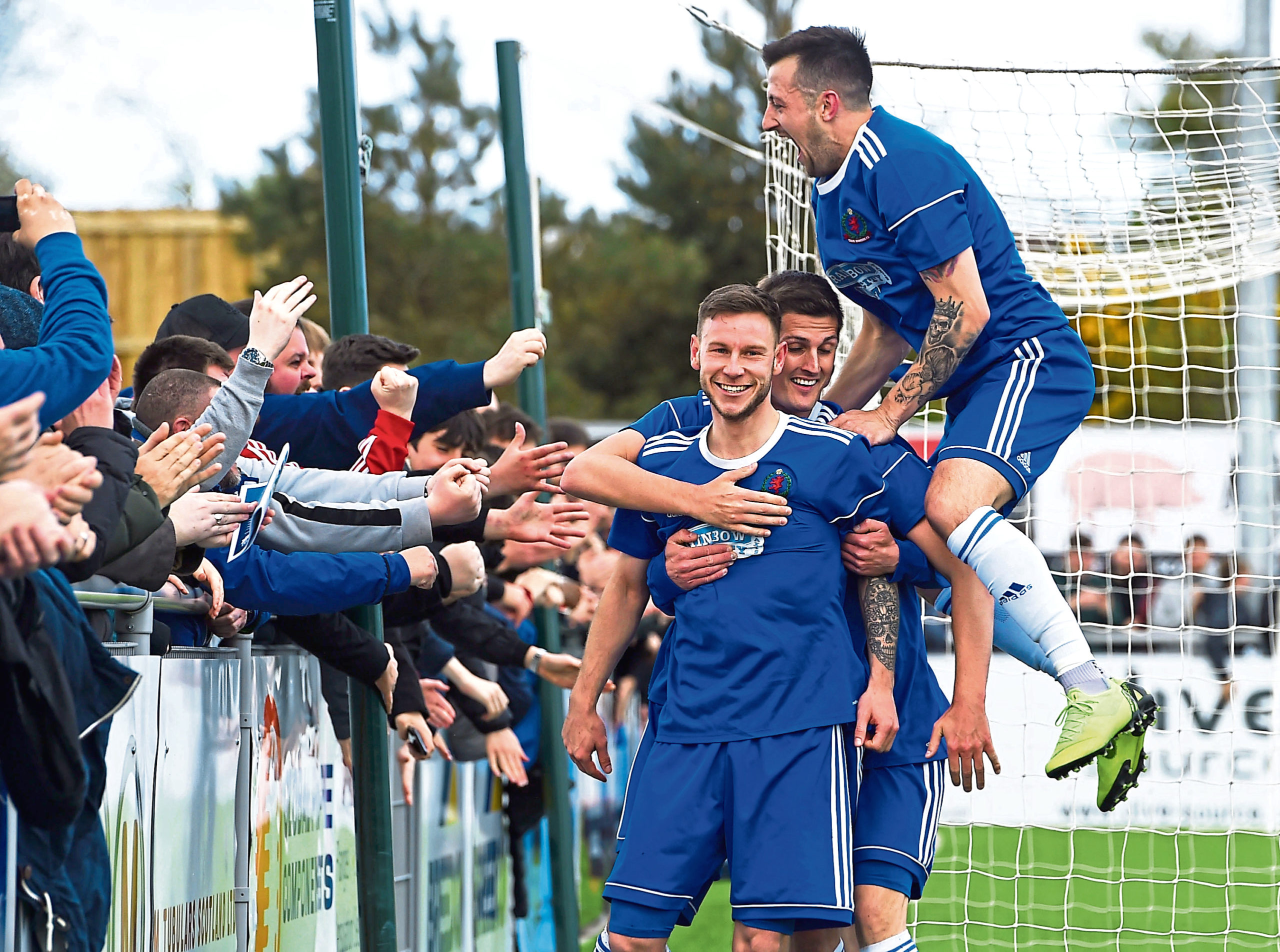 Cove have celebrated back-to-back title successes.