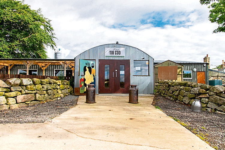 The farm and farm shop is for sale as a whole or in five lots.