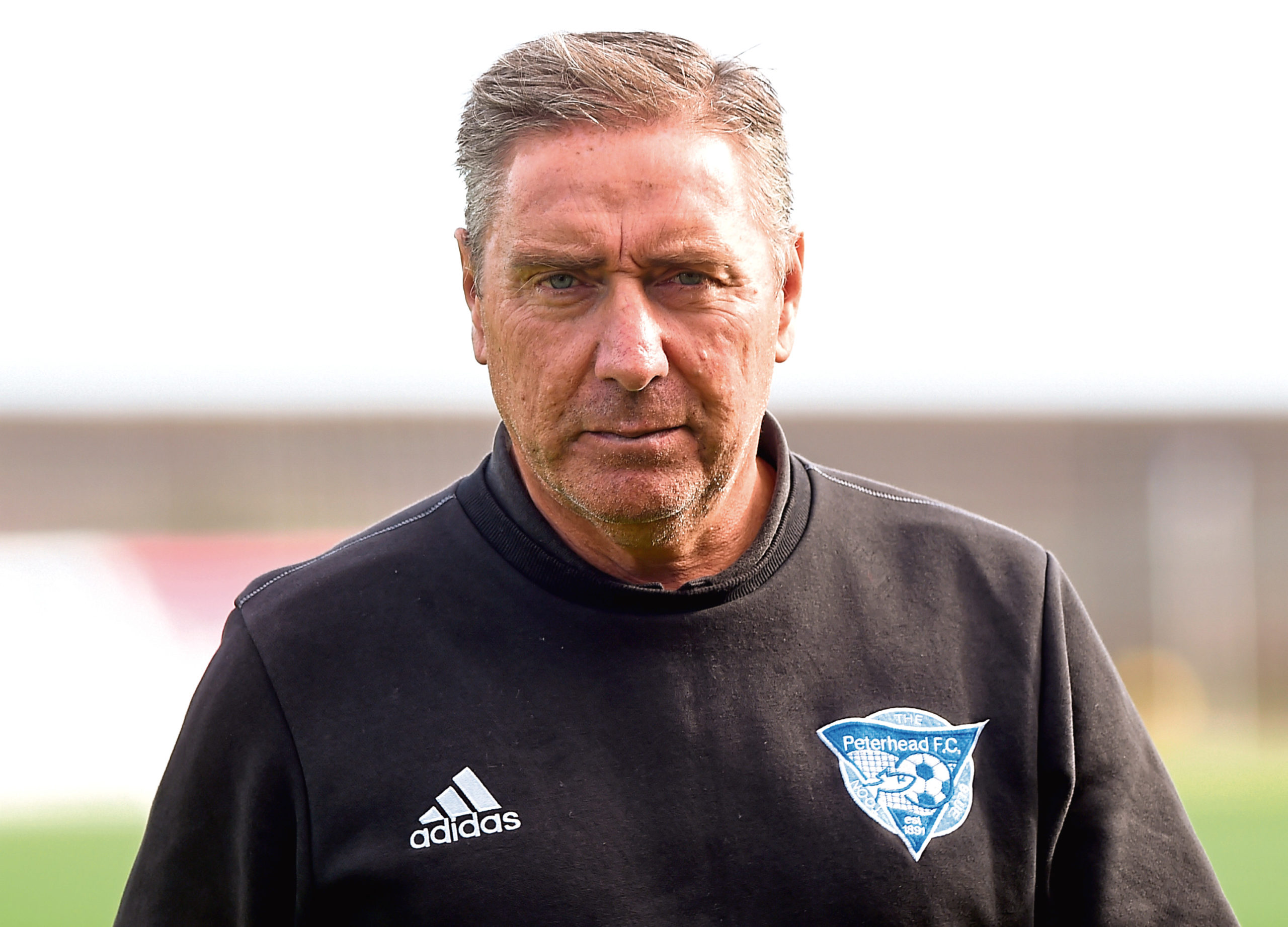 Peterhead manager Jim McInally  Picture by KENNY ELRICK