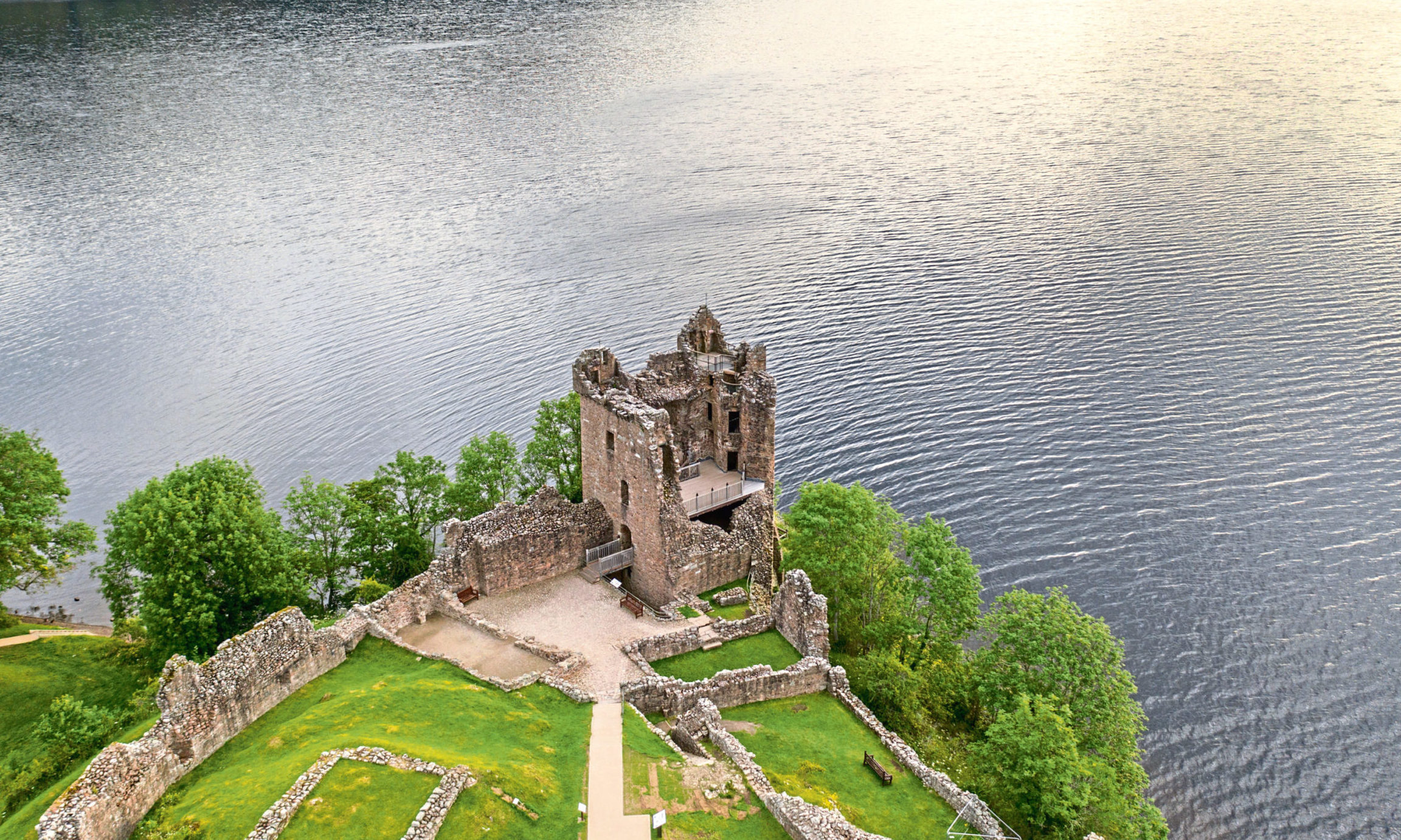 Urquhart Castle featured in The Private Life of Sherlock Holmes.