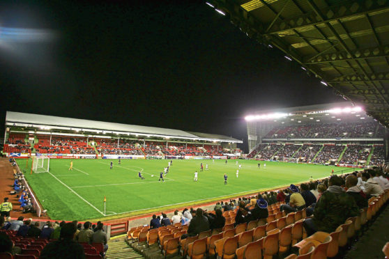 Pittodrie.