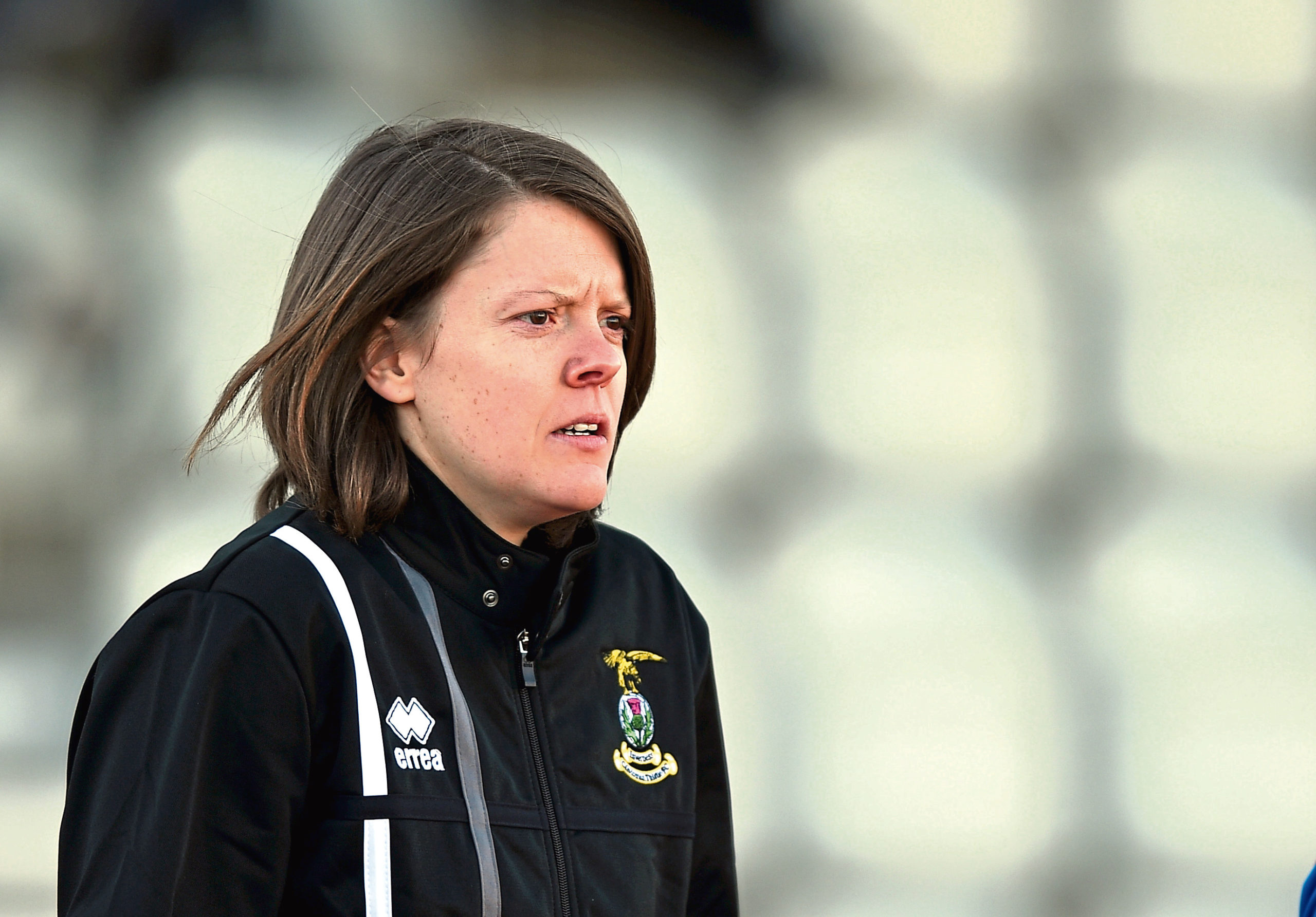 Caley Thistle Women manager Karen Mason