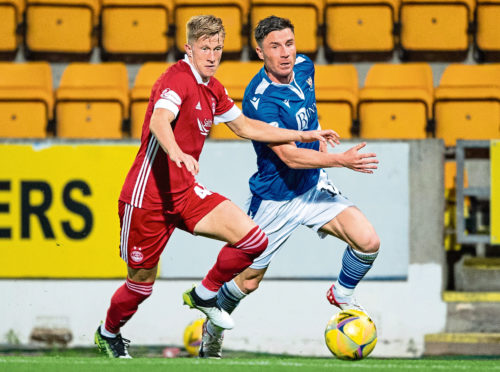Ross McCrorie's debut againstt St Johnstone was promising. The win started an important period for the Dons.