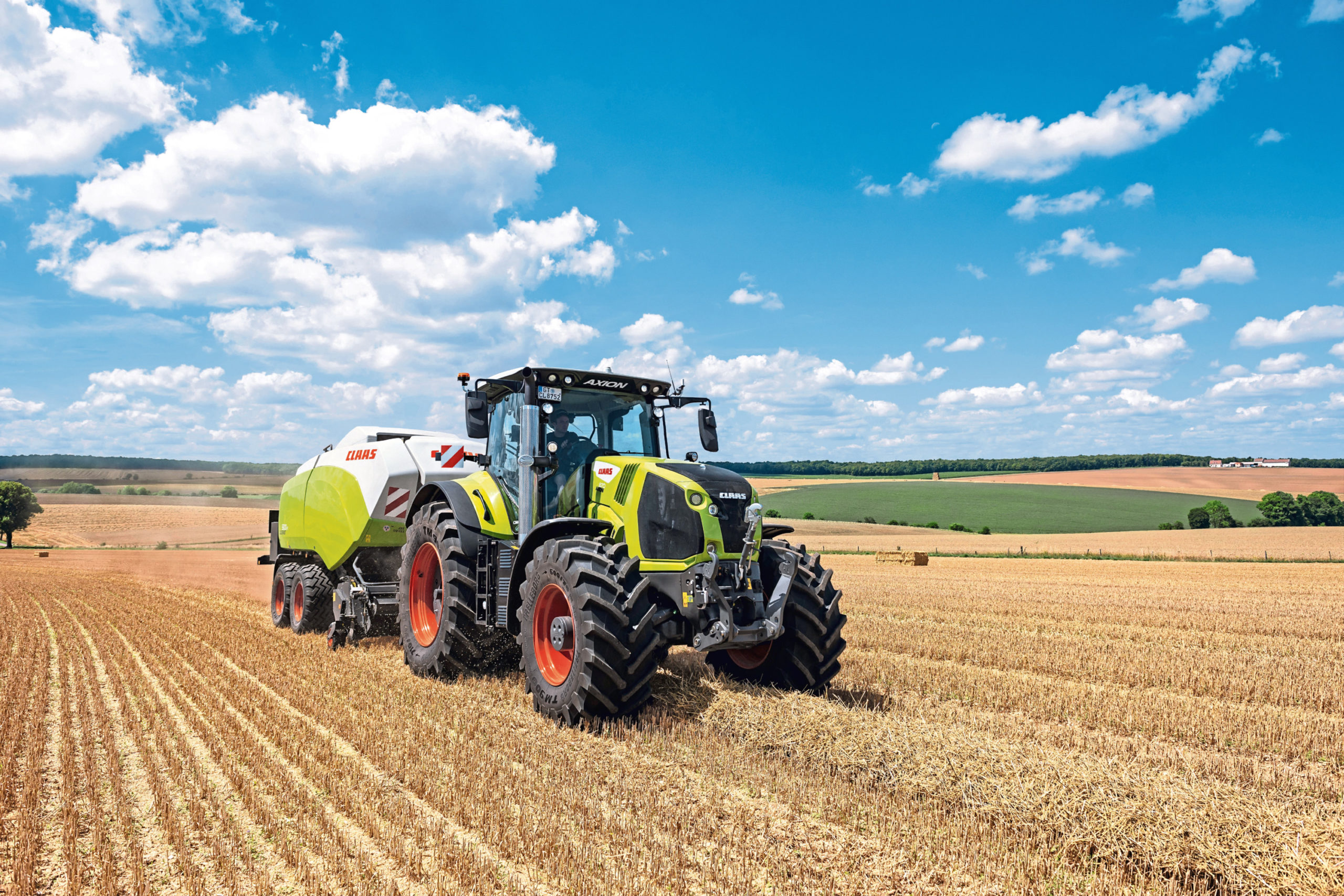 The Claas Axion 800  range of tractors has been upgraded with Stage V engines and new features.