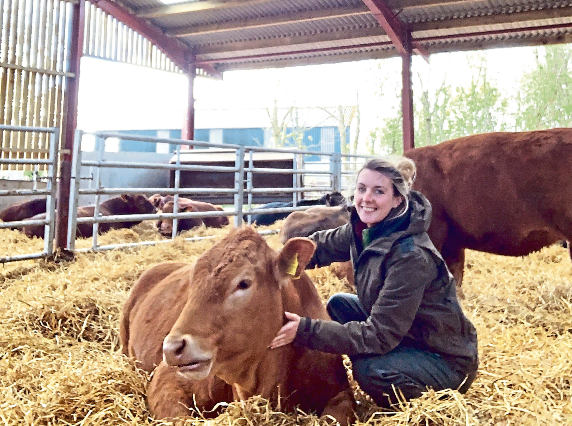 Louise Munro is one of nine new farming ambassadors with Soil Association Scotland.