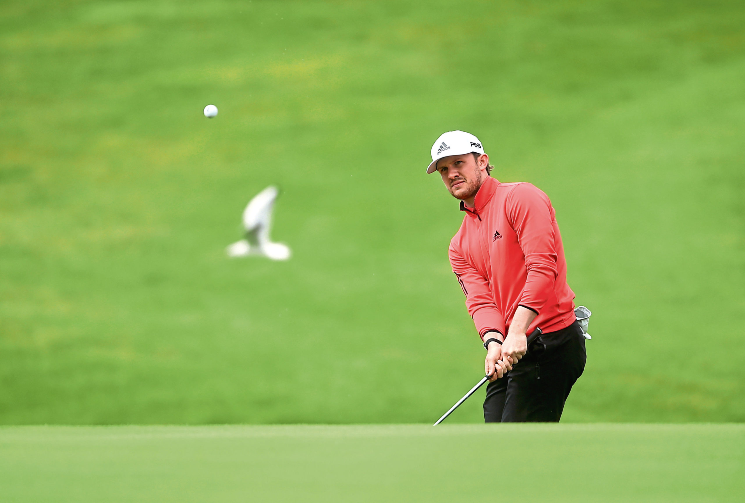 Scotland's Connor Syme during day three of the ISPS Handa Wales Open at Celtic Manor Resort.