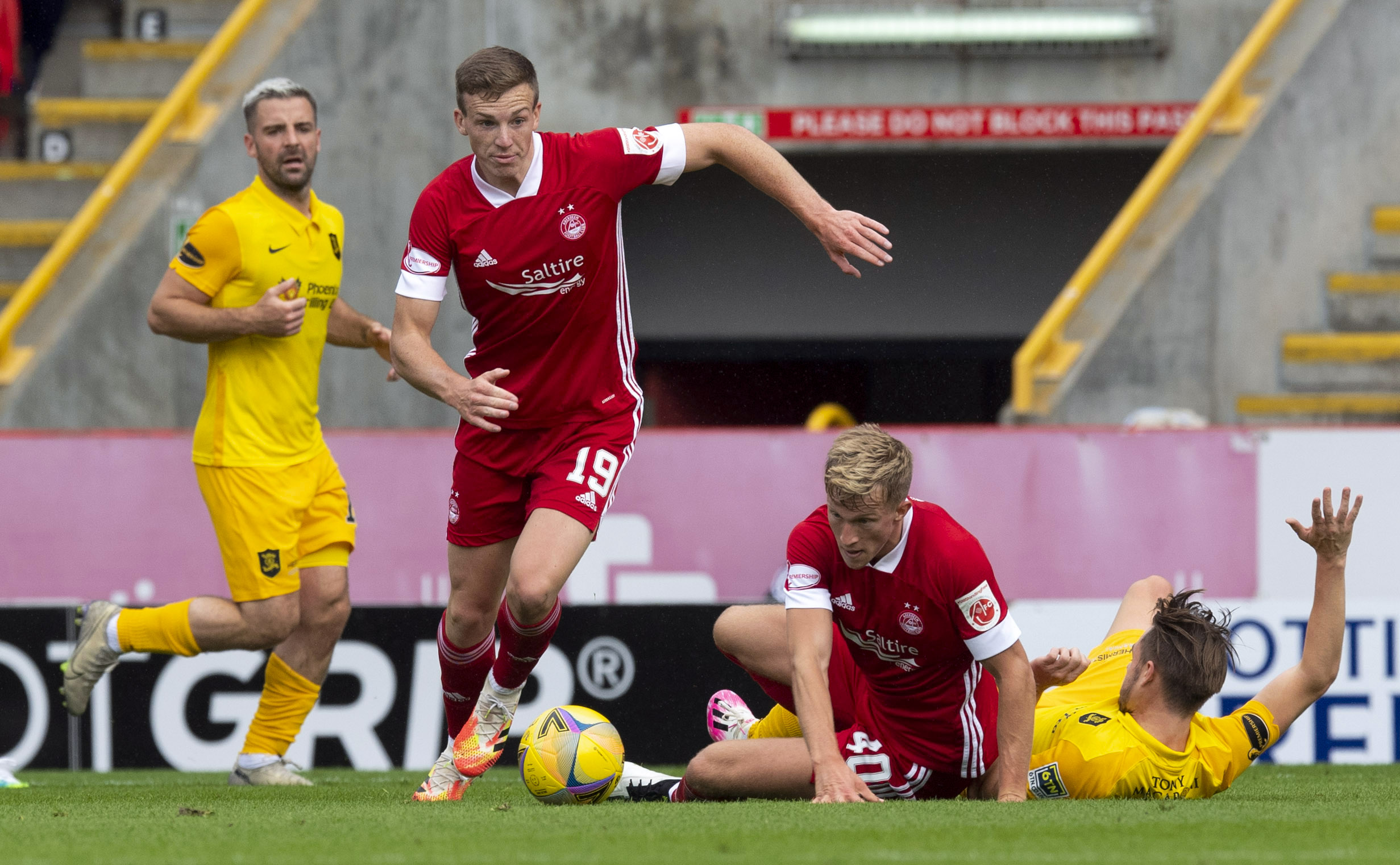 Lewis Ferguson and Ross McCrorie have caught the eye of the Viking boss Bjarne Berntsen