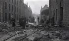 The Aberdeen Blitz devastated the city in April 1943.