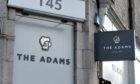 The Adams and The Hawthorn bar on Holburn Street.