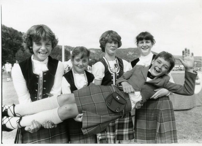 Ballater Highland Games - Highland Dancers 1983