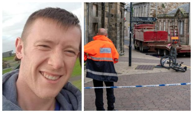 Rikki Gault died following the incident on Low Street in Banff.