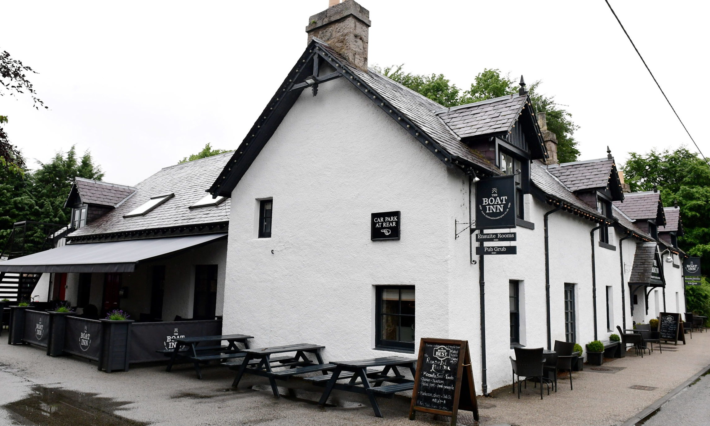 The Boat Inn, Aboyne.          Picture by Kami Thomson