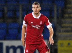 Dons manager Derek McInnes hails defender Tommie Hoban's leadership qualities