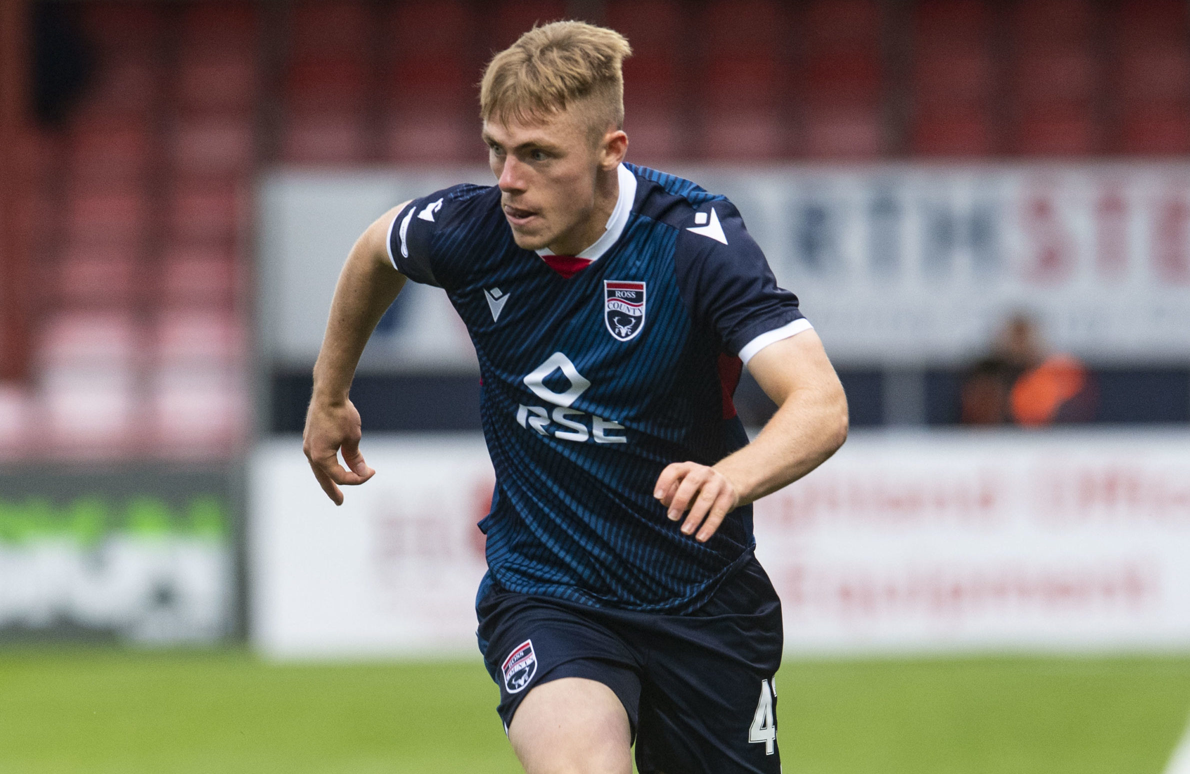 Ross County defender Josh Reid.