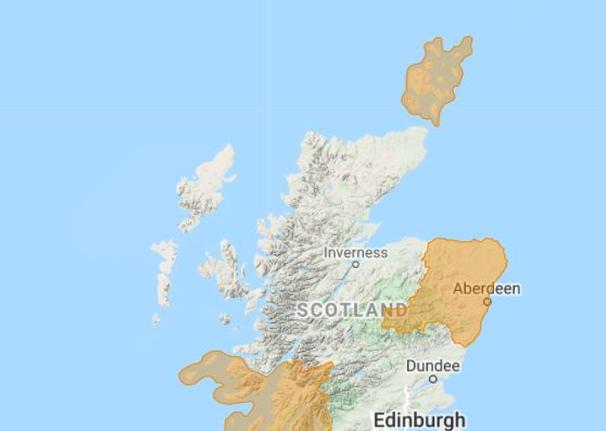 SEPA have issued a flood alert across the region.