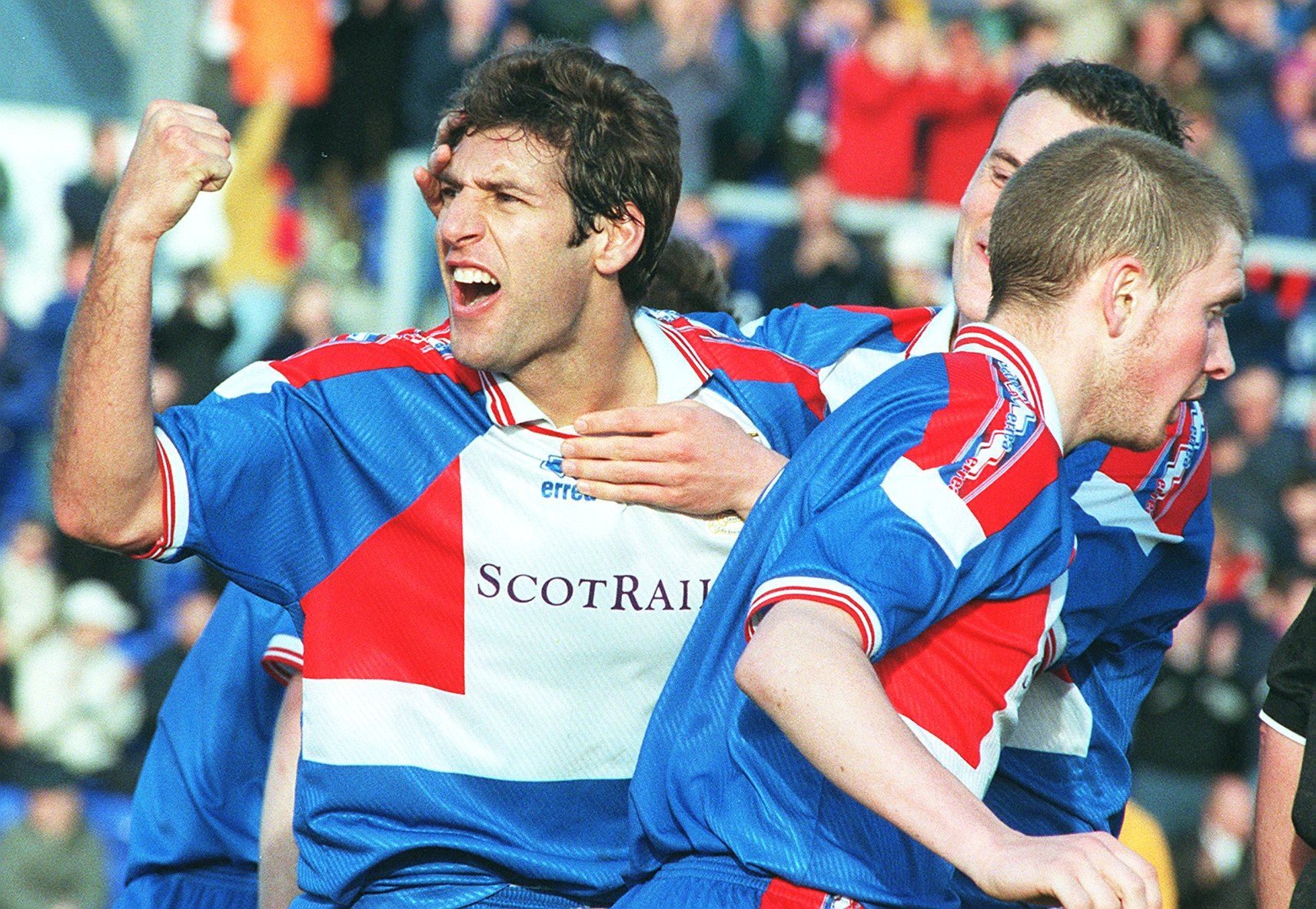 Davide Xausa during his time with Caley Thistle