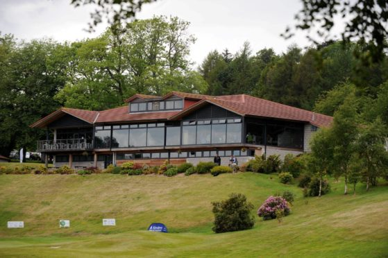 Deeside Golf Club.   Picture by Kenny Elrick.