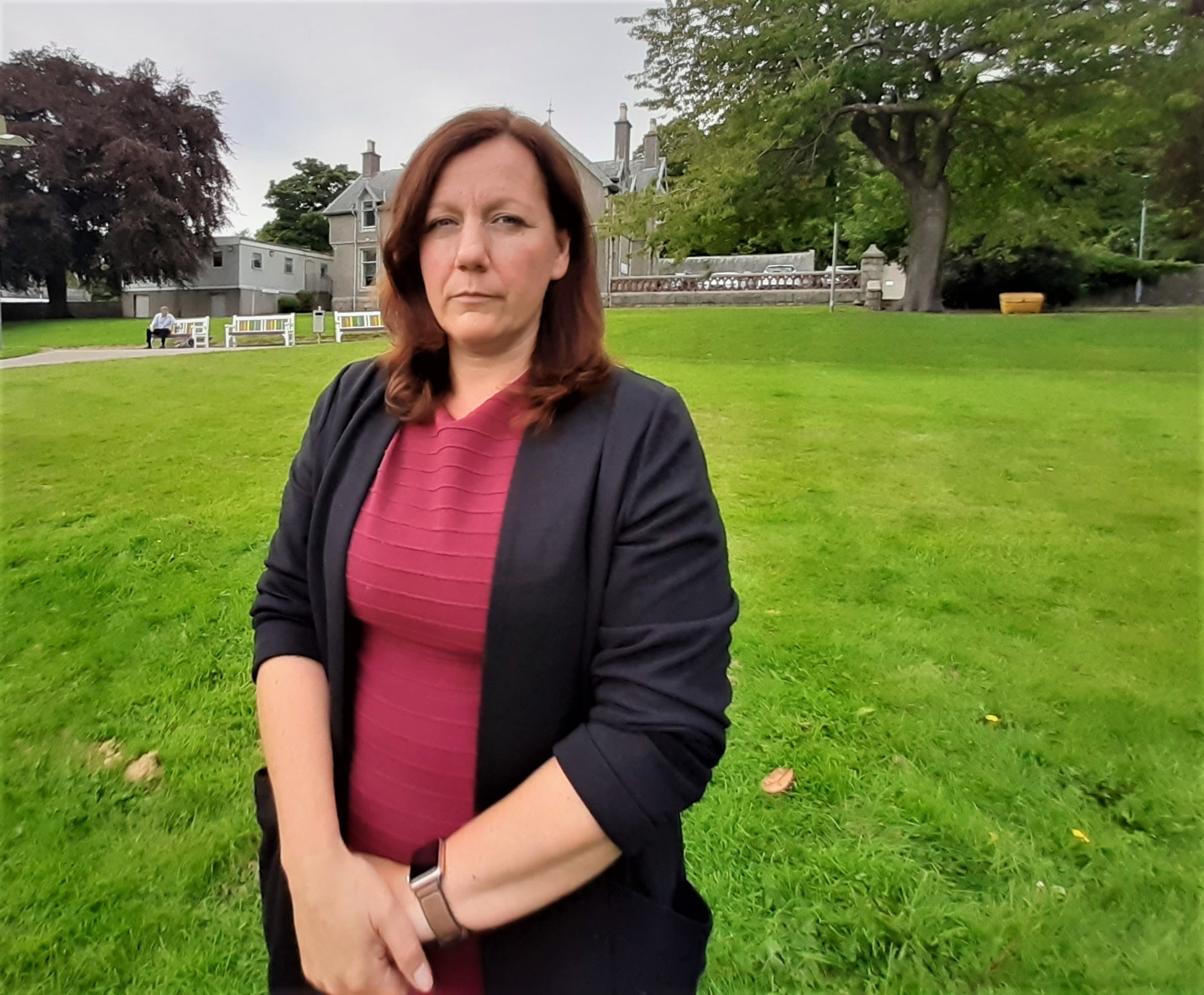 Dr Lynn Taylor, director of psychology for NHS Grampian.