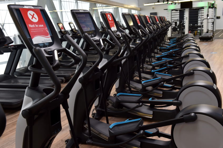 Members of Aberdeen Sports Village were pleased they could finally retrun.