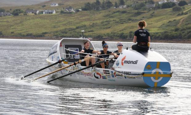 The Bristol Gulls rowers