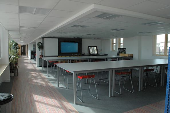 The new art department at Fraserburgh Academy is ready for pupils.