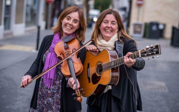 Jenny (left) and Hazel Wrigley