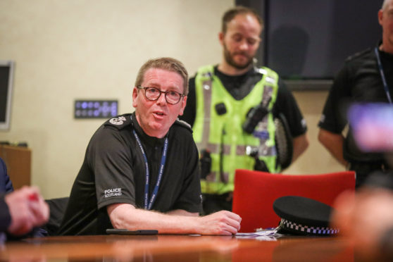 Deputy Chief Constable Will Kerr has said patrols in Aberdeen will be increased throughout the local lockdown.